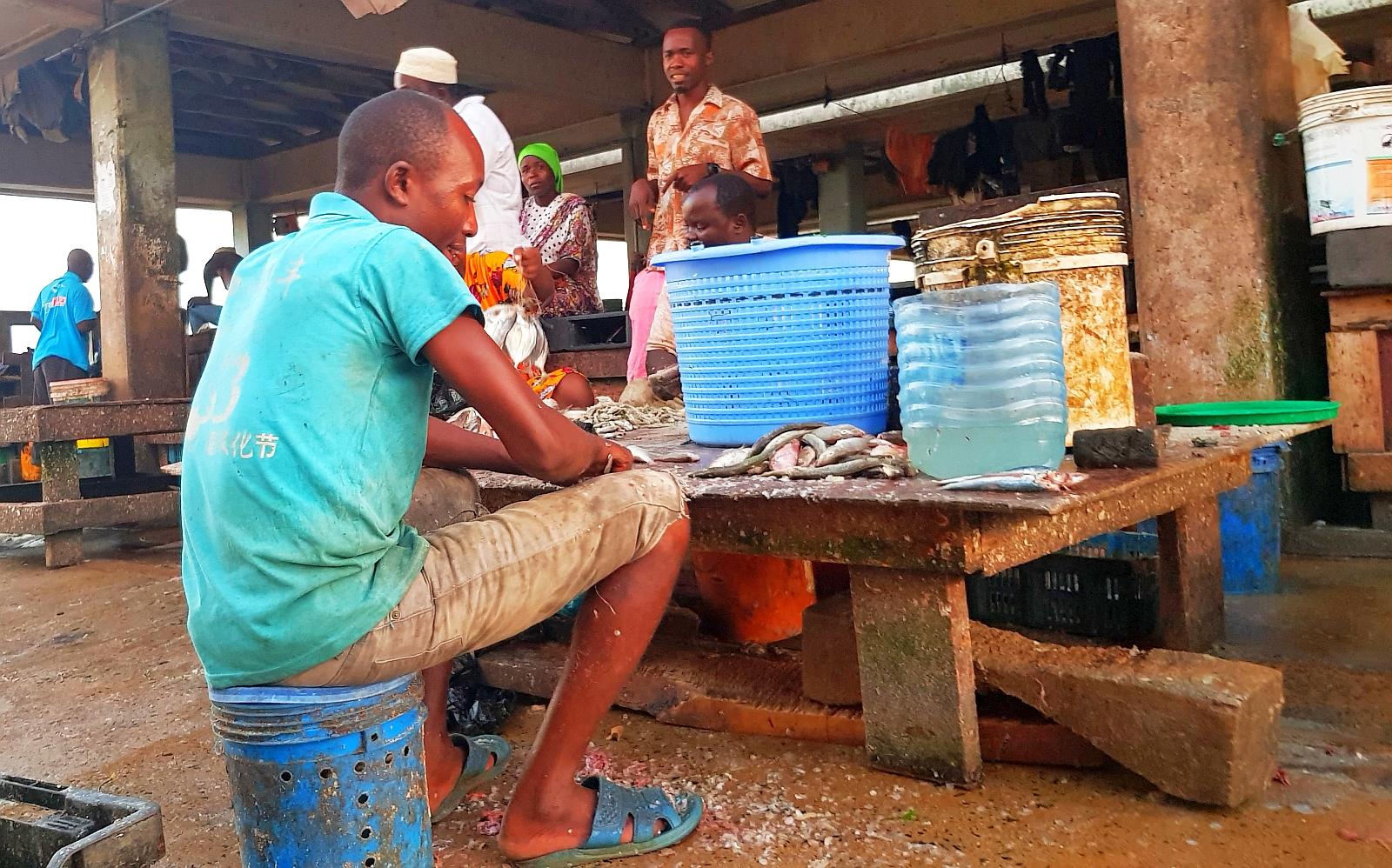 Mzizima Fish Market
