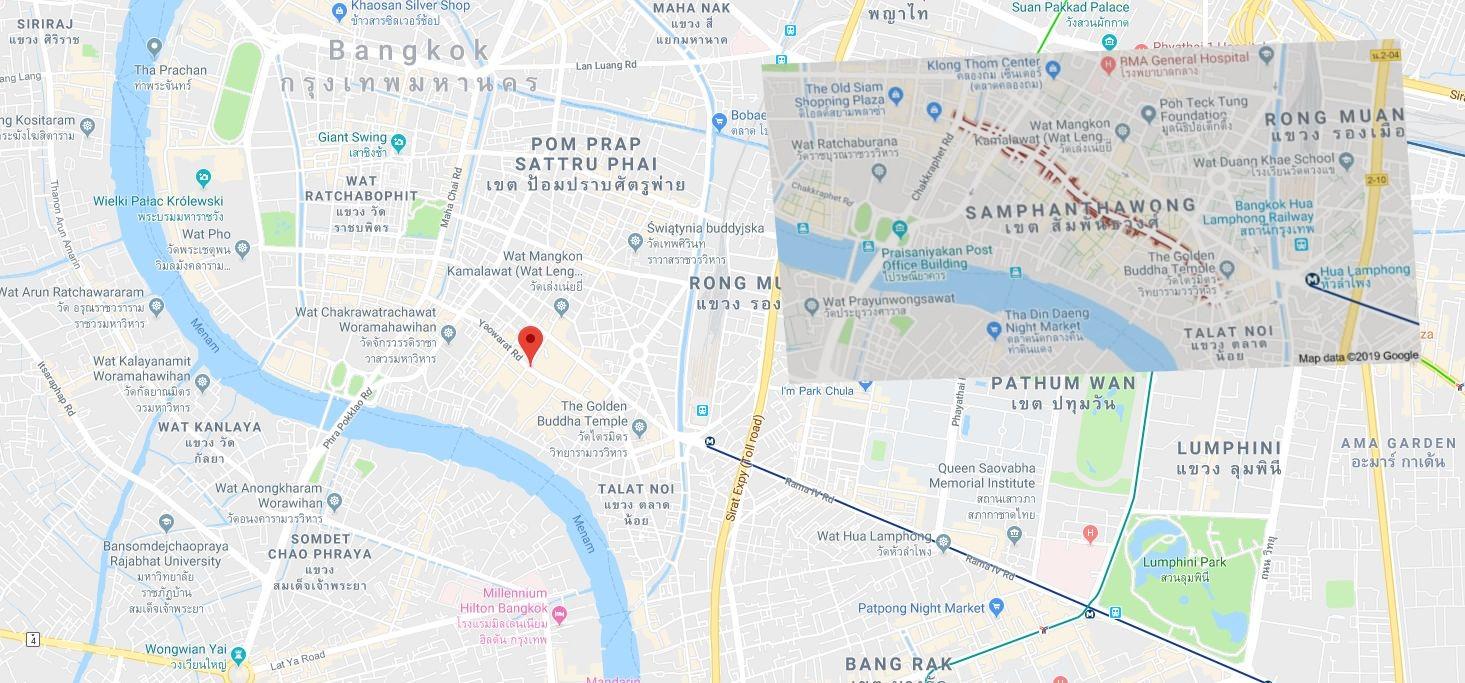 China Town w Bangkoku