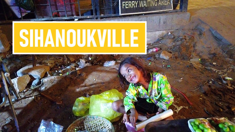 sihanoukville w kambodży, miasto kontrastów