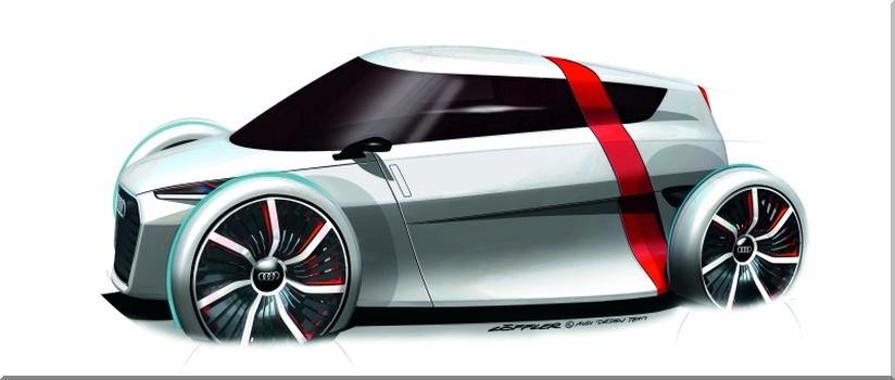 Audi urban concept. Nowe COŚ