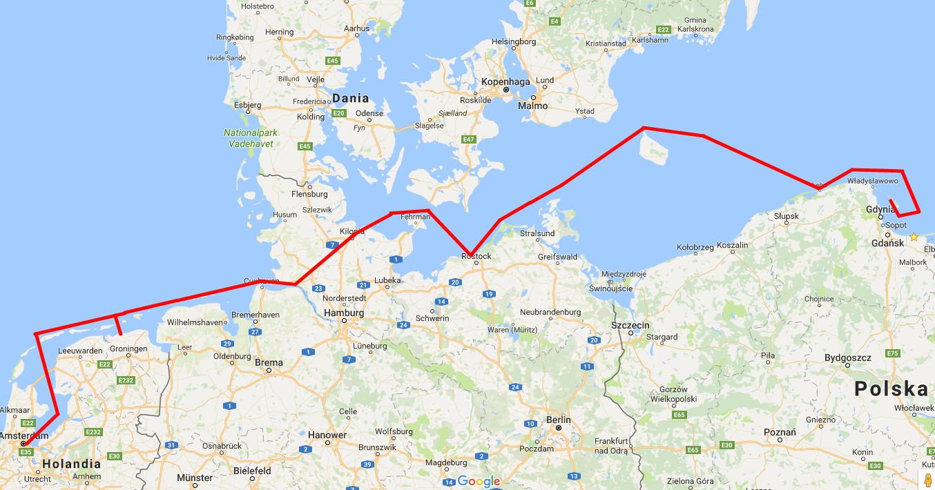 Morze Północne i Bałtyk. Dziennik pokładowy