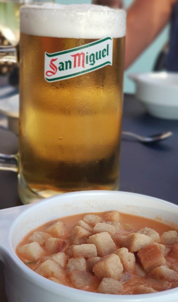 hiszpańska kuchnia - gaspacho