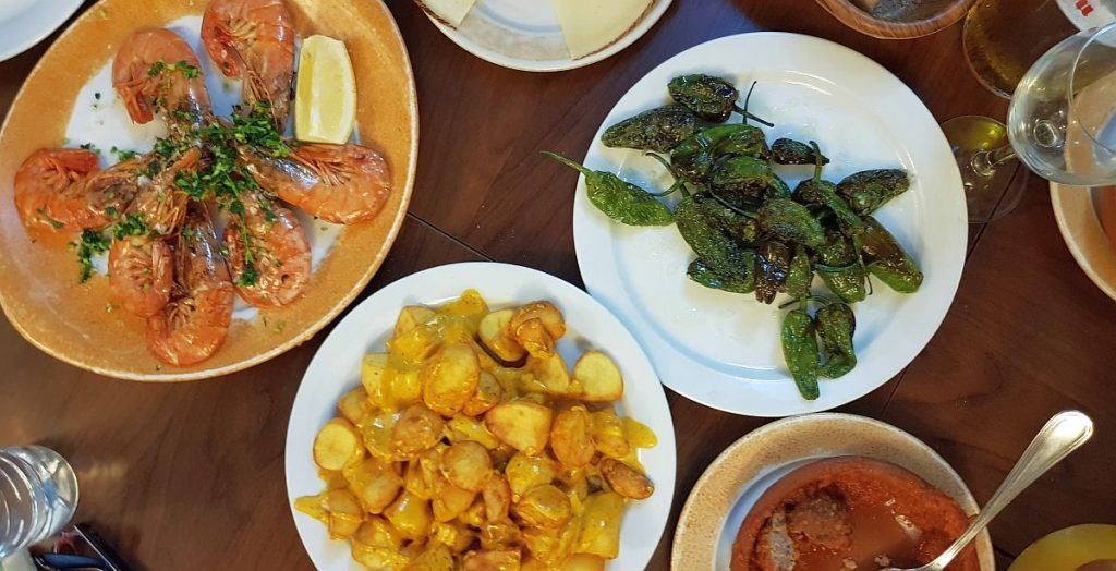 hiszpańska kuchnia - tapas