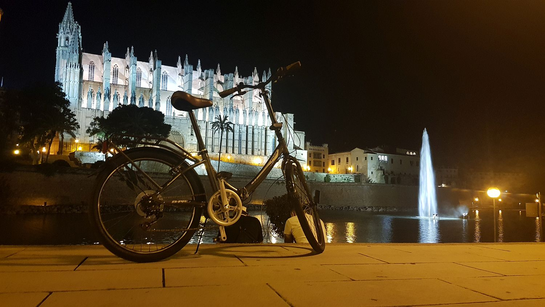 palma de mallorca na rowerze