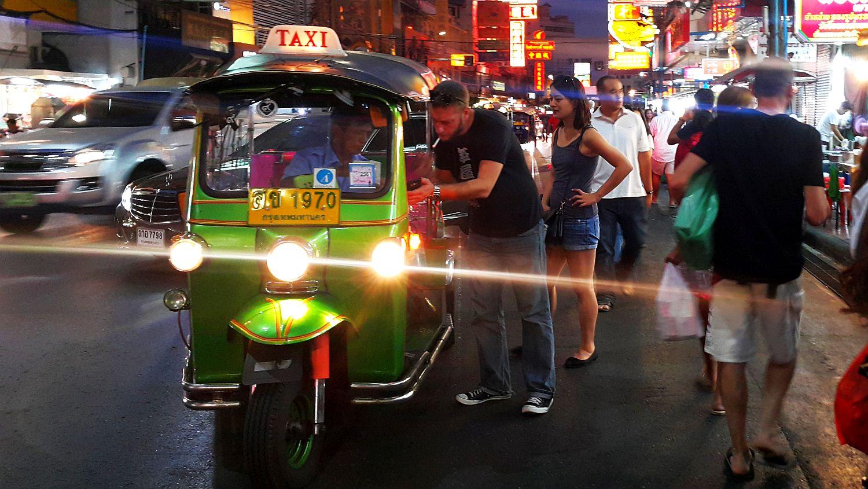 Tajlandia w dwa tygodnie - China Town w Bangkoku