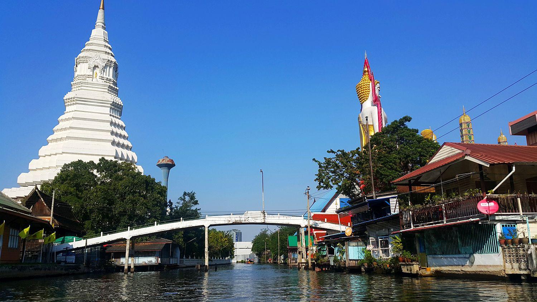 Tajlandia w dwa tygodnie - kanały Bangkoku