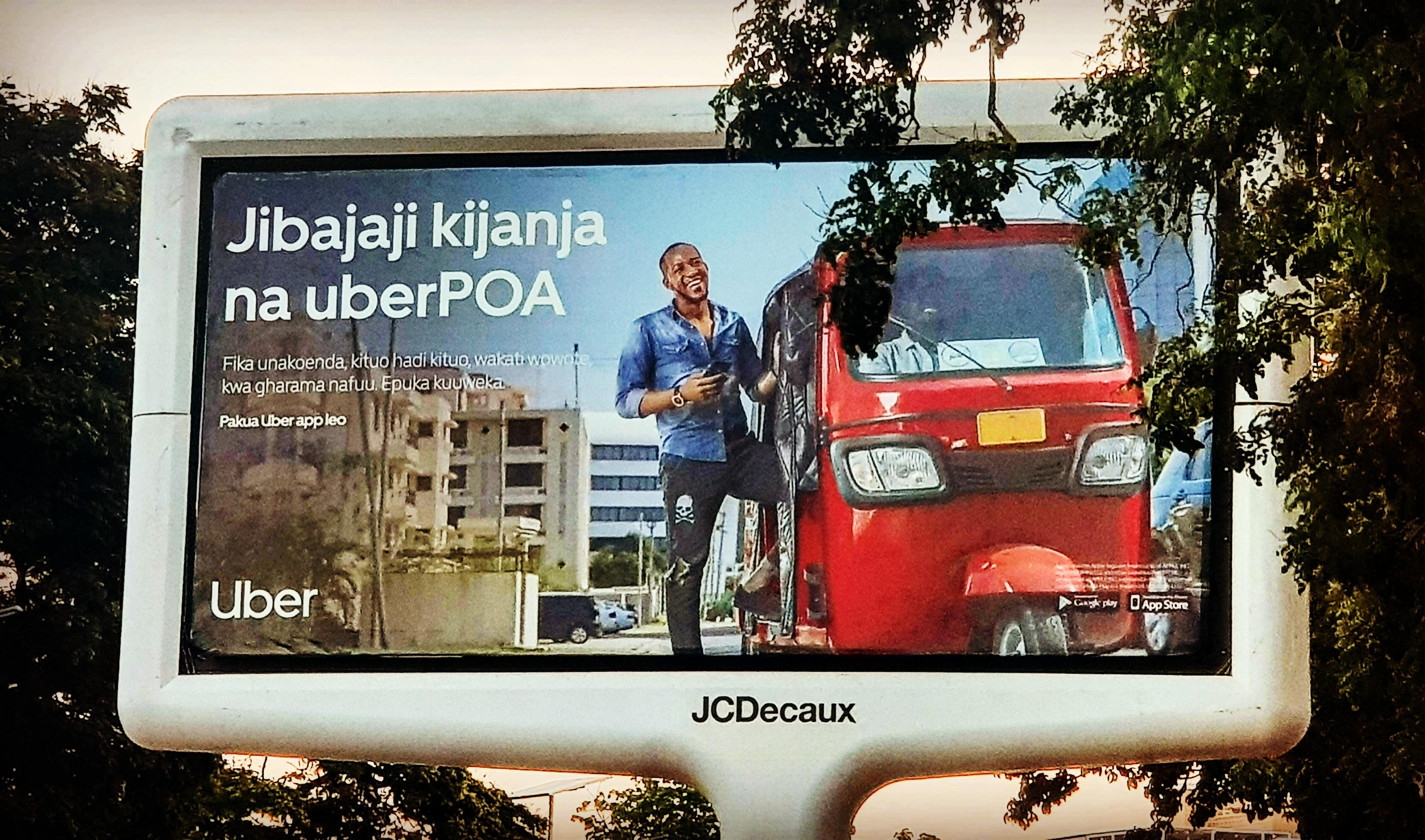 Uber i Taxify w Tanzanii