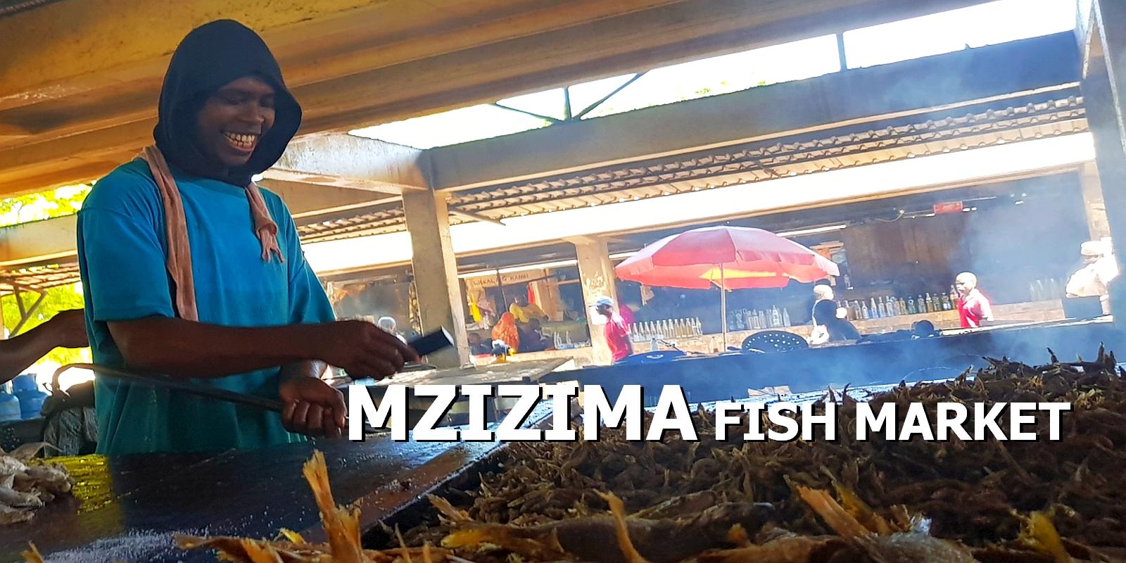 Targ rybny Mzizima. Najlepszy w Dar
