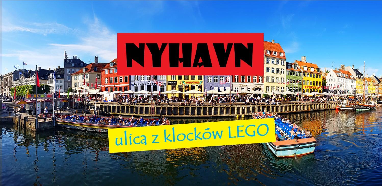 Nyhavn w Kopenhadze. Jak z klocków lego