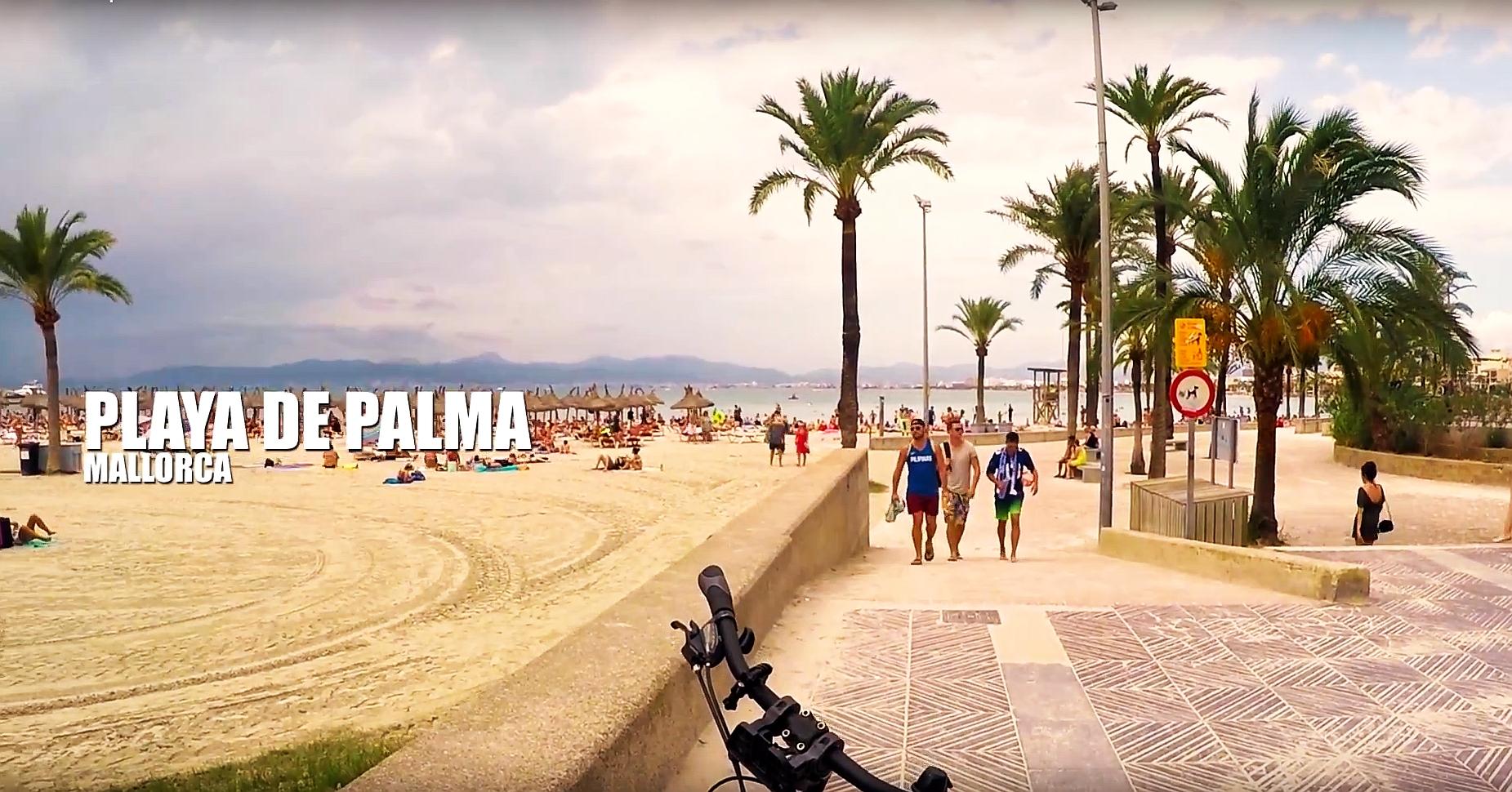 Rowerem po Majorce. Wideo