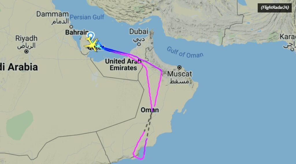 Qatar Airlines lot dla zaszczepionych